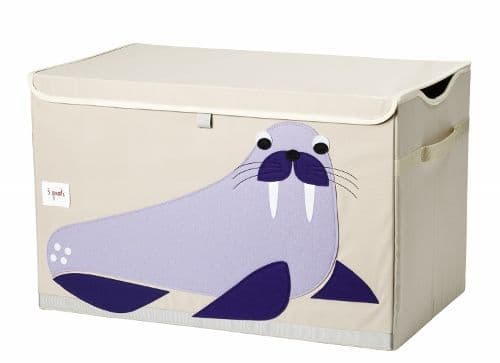 3 Sprouts Toy Chest - Walrus Purple