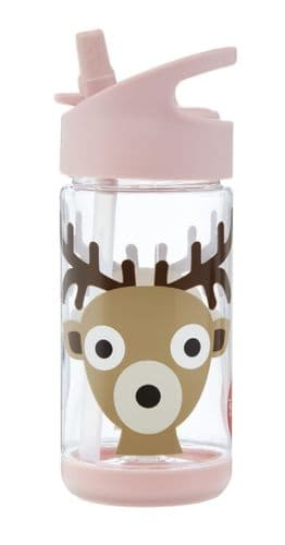 3 Sprouts Water Bottle - Deer