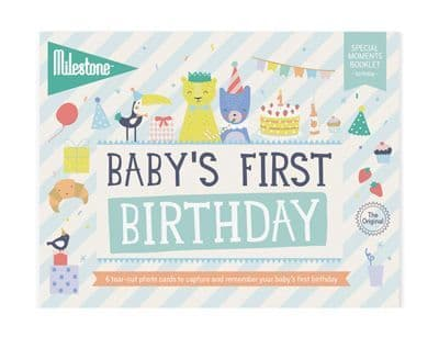 Baby's First Special Moment - Birthday - Cards by Milestone