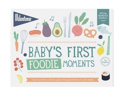 Baby's First Special Moment - Foodie - Cards by Milestone