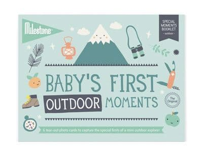 Baby's First Special Moment - Outdoor - Cards by Milestone