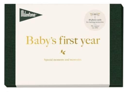 My First Year ABC Baby Cards by Milestone