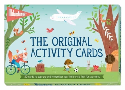 The Original Activity Cards by Milestone