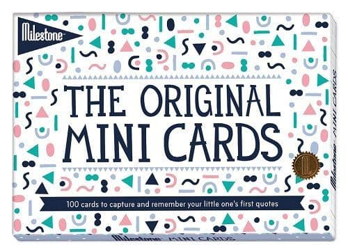 Mini Cards by Milestone™