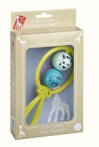 Sophie la girafe 2 ball rattle gift box