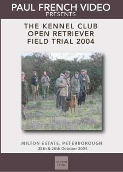 2004 Kennel Club 2 Day Retriever Open Field Trial