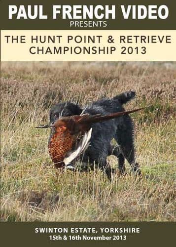 2013 Hunt Point & Retrieve Championship