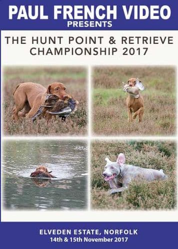 2017 Hunt Point & Retrieve Championship