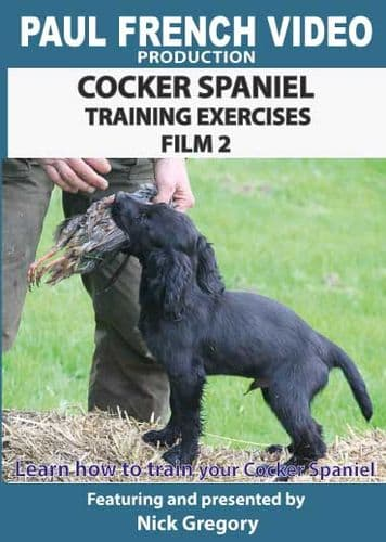 Cocker Spaniel Training Exercises with Nick Gregory - Film 2
