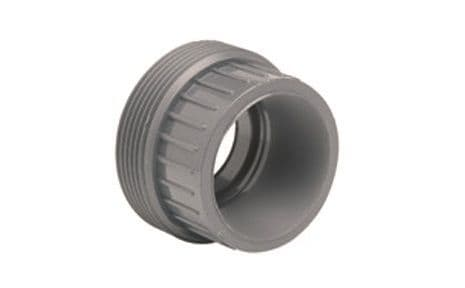 90mm - PVCu Union Bush, Plain