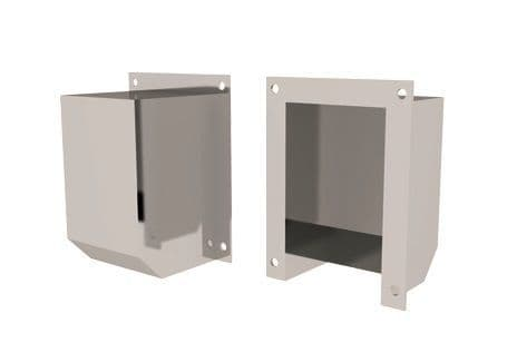 Fan Vent Cover - Stainless Steel