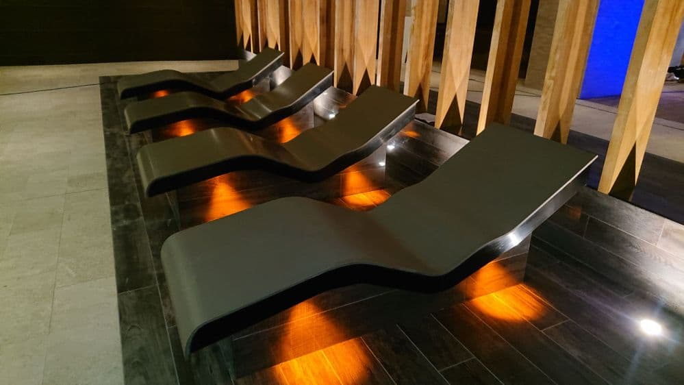 Heated Corian Lounger