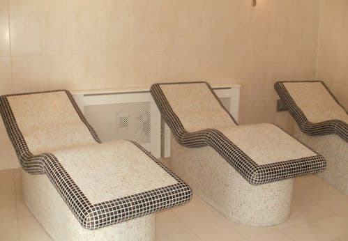 Heated Tiled Loungers - Free Standing