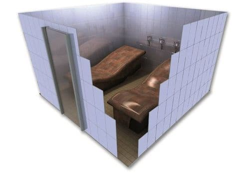 Heated Tiled Loungers - Plans & Models