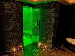 Rasul Mud - Shower Area with colour coding light