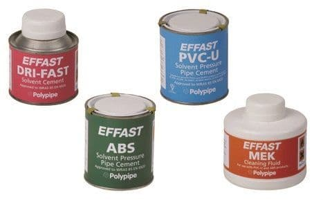 Solvent Cements, Cleaners & Tapes