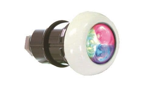 White Light, ABS Faceplate - For Spas & Pre Fab pools