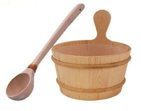 Wooden Sauna Bucket