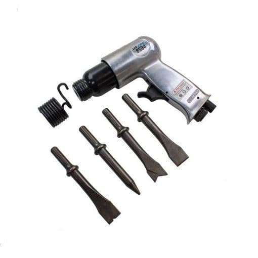 150mm Air Hammer with 4 Chisels US PRO 8594