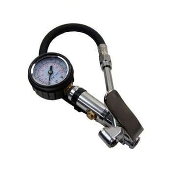 Tyre Inflator with Gauge 0 / 220 psi US PRO 8808