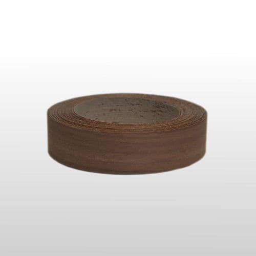 Walnut pre glued edging tape <br/> 0.5 mm x 32 mm x 10m