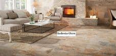 10-50m2 or Sample Ardesia Ocre Stone Effect Porcelain Wall Tile Deal 62.5 x 32