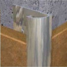 Genesis Rounded Tile Trim Aluminium Bright or Brushed Silver  x 2.5m x10 lengths