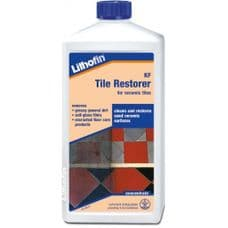 Lithofin KF Tile Restorer 1L Ceramic/Quarry Cleaner