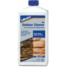 Lithofin Outdoor Cleaner 1L for Stone,Path,Fence,Terrace,Brick,Wall,Stair,Roof