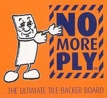 NO MORE PLY-Tile Backer Board 1200x600 X 6mm x 1