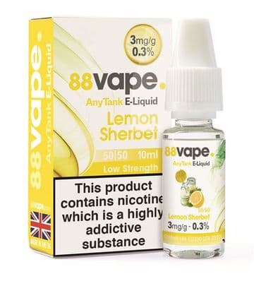 88Vape Lemon Sherbert Bulk Buy
