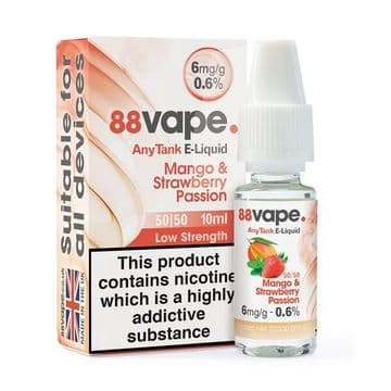 88Vape Mango & Strawberry Passion