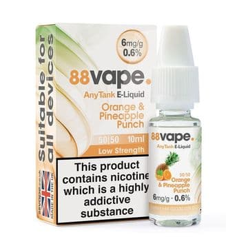 88Vape Orange & Pineapple Punch Bulk Buy