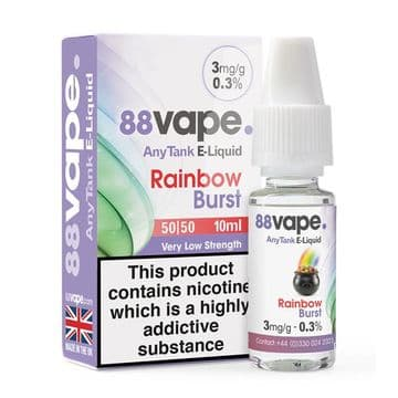 88Vape Rainbow Burst Bulk Buy