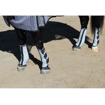 Professional's Choice Fly Boots (Value-4 Pack Fleece Lined)