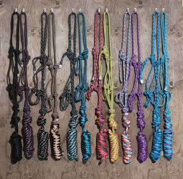 Professional's Choice Rope Halter with 10ft Lead