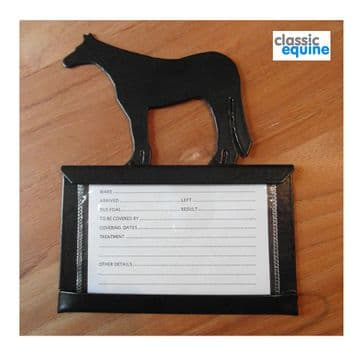 Stable Name Plate - Western Horse