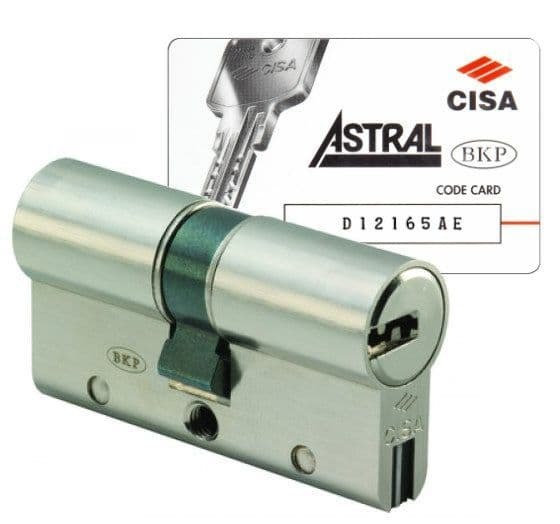 Cisa Astral S Keyed Alike Anti-Snap Cylinders to match my key code
