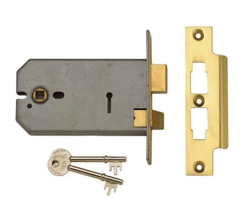 Union 2077 3 Lever Horizontal Sashlock.