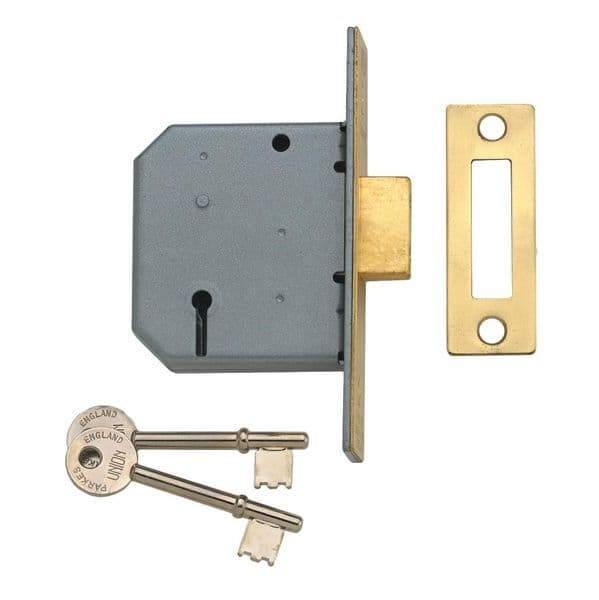 Union 2177 3 Lever Mortice Deadlock only £15.10