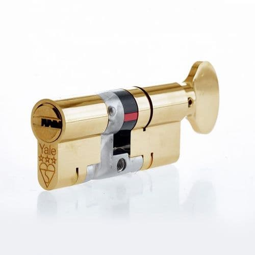 Yale Platinum Security Cylinders - Thumbturn
