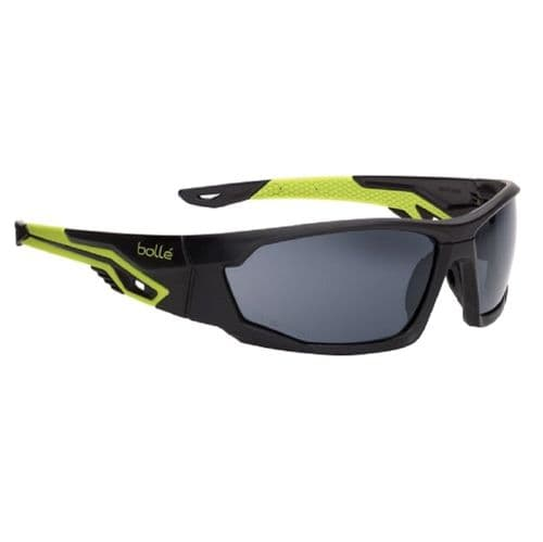 Bolle Safety MERPSF MERCURO Platinum Safety Glasses Smoke Lens