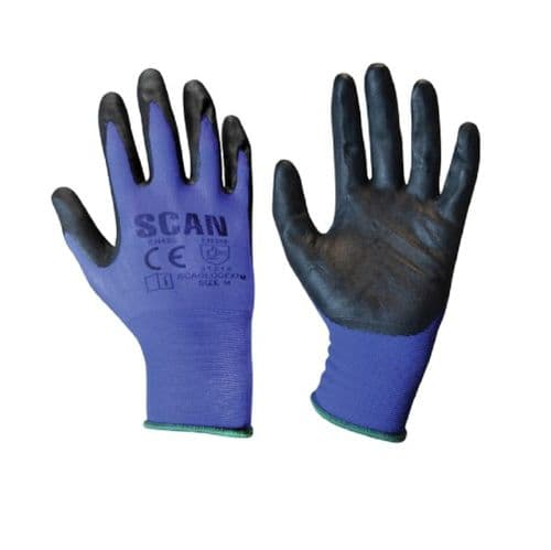 Scan SCAGLODEXTL Max. Dexterity Nitrile Gloves Large