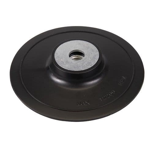 Silverline 108636 ABS Fibre Disc Backing Pad 125mm