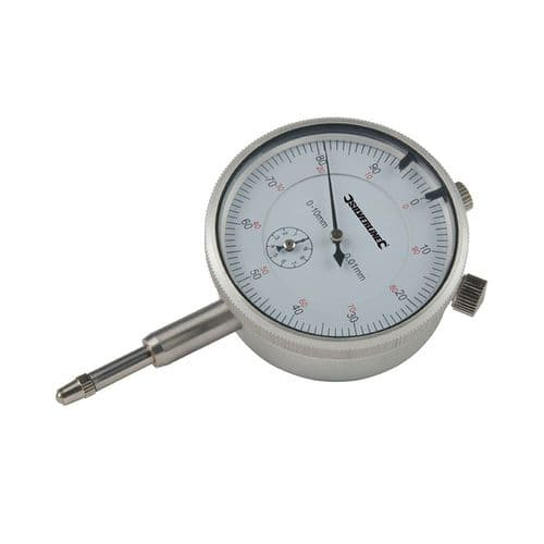 Silverline 196521 Metric Dial Indicator 0 - 10mm