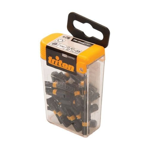 Triton 357832 Impact Screwdriver Bits Torx T30 x 25mm Pack of 25