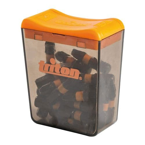 Triton 695211 Impact Screwdriver Bits Pozi PZ3 x 25mm Pack of 25