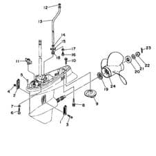 Lower Unit / Gearbox