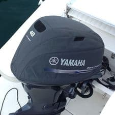 Yamaha YME-MCVRF-34-GY Outboard Vented Splash Cover