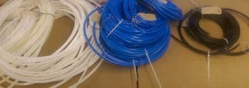 Air Hoses various widths and colour per metre
